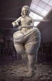 bariatric sculpture
